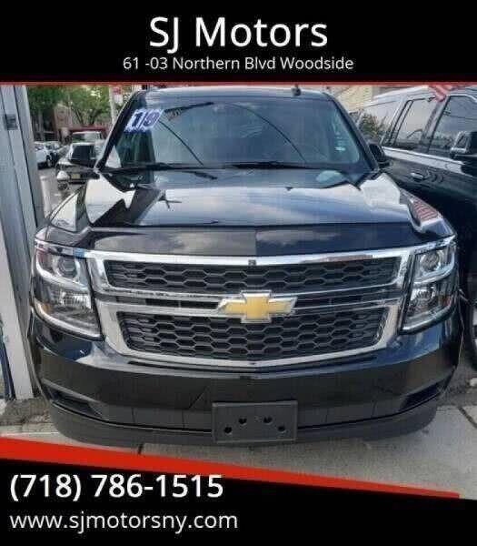 Used Chevrolet Suburban LT 1500 4x4 4dr SUV 2019 | SJ Motors. Woodside, New York
