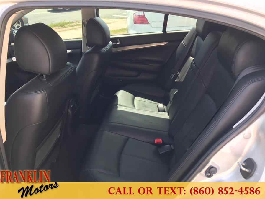 Used Infiniti G37 Sedan 4dr x AWD 2013   Franklin Motors Auto Sales LLC. Hartford, Connecticut