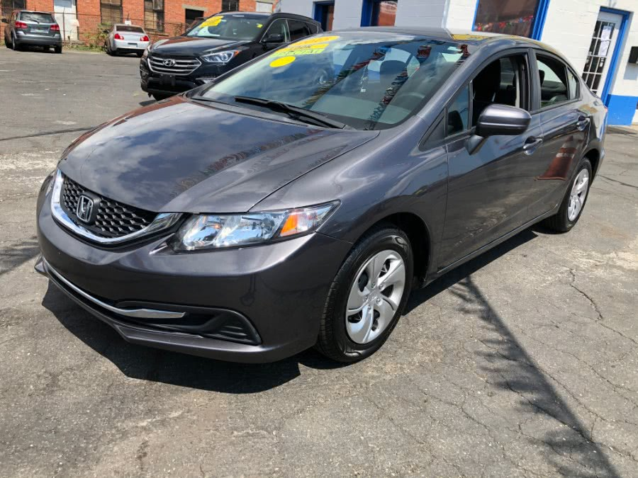 Used Honda Civic Sedan 4dr CVT LX 2015 | Affordable Motors Inc. Bridgeport, Connecticut
