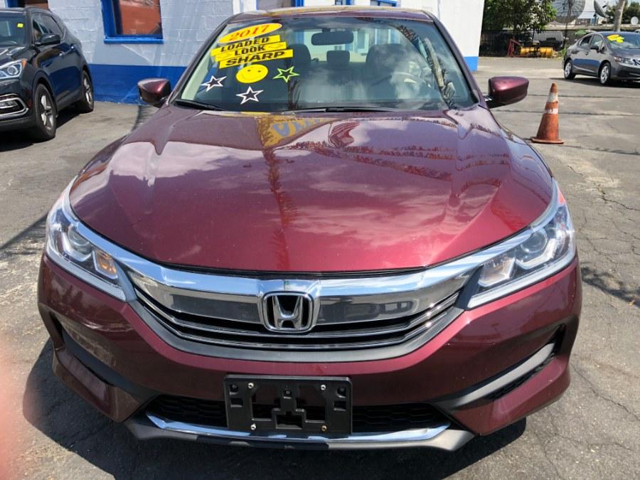 Used Honda Accord Sedan LX CVT 2017   Affordable Motors Inc. Bridgeport, Connecticut