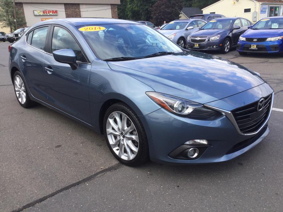 Used Mazda Mazda3 4dr Sdn Auto s Touring 2014   L&S Automotive LLC. Plantsville, Connecticut