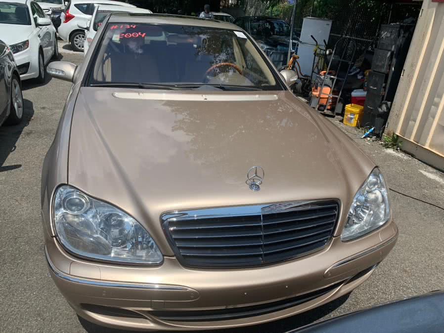 Used 2004 Mercedes-Benz S-Class in Brooklyn, New York | Atlantic Used Car Sales. Brooklyn, New York