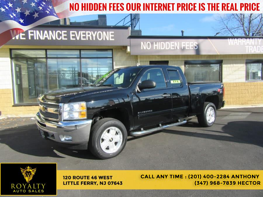 """Used Chevrolet Silverado 1500 4WD Ext Cab 143.5"""" LT 2012 