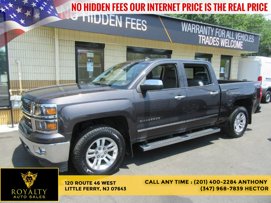 "Used Chevrolet Silverado 1500 4WD Crew Cab 143.5"" LTZ w/2LZ 2014   Royalty Auto Sales. Little Ferry, New Jersey"