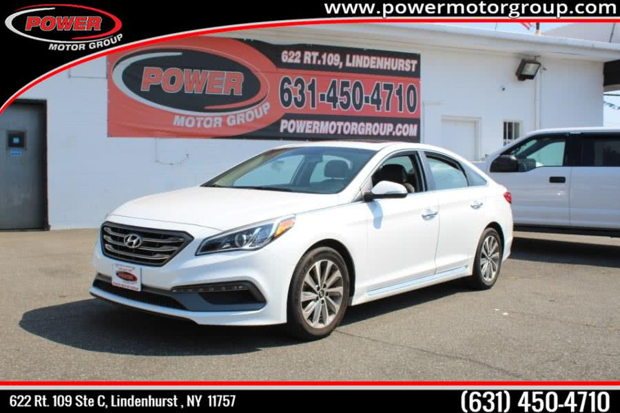 Used 2017 Hyundai Sonata Sport in Lindenhurst , New York | Power Motor Group. Lindenhurst , New York