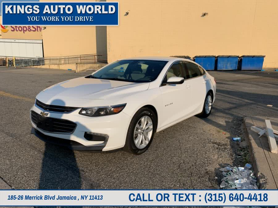 Used Chevrolet Malibu 4dr Sdn LT w/1LT 2017 | Kings Auto World. Jamaica , New York