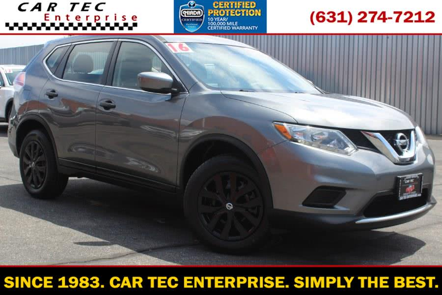 Used Nissan Rogue AWD 4dr S 2016 | Car Tec Enterprise Leasing & Sales LLC. Deer Park, New York