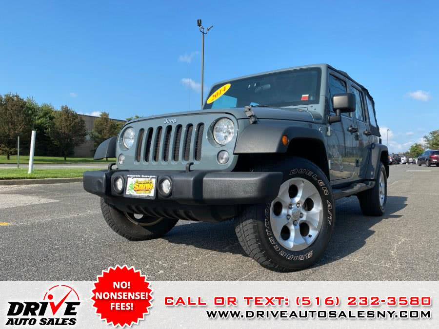 Used 2014 Jeep Wrangler Unlimited in Bayshore, New York | Drive Auto Sales. Bayshore, New York