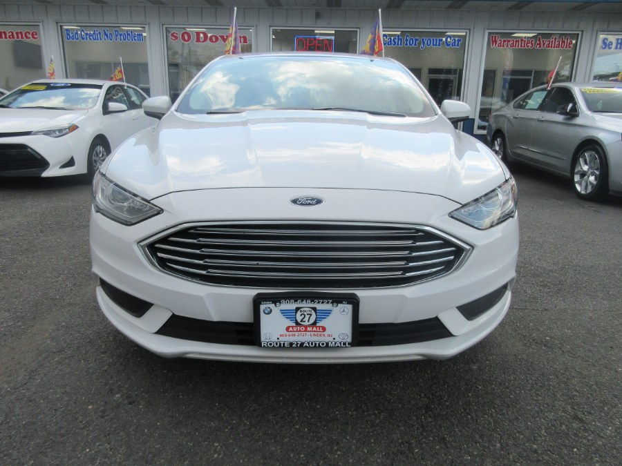 Used Ford Fusion SE FWD 2017 | Route 27 Auto Mall. Linden, New Jersey