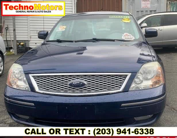 Used 2007 Ford Five Hundred in Danbury , Connecticut | Techno Motors . Danbury , Connecticut