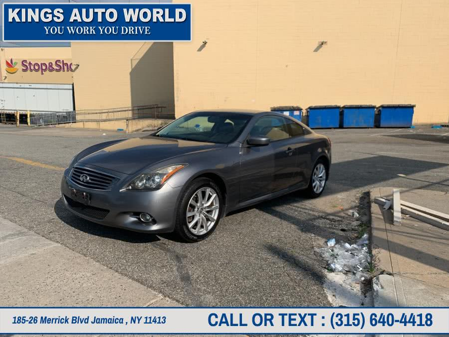 Used Infiniti G37 Coupe 2dr x AWD 2011 | Kings Auto World. Jamaica , New York