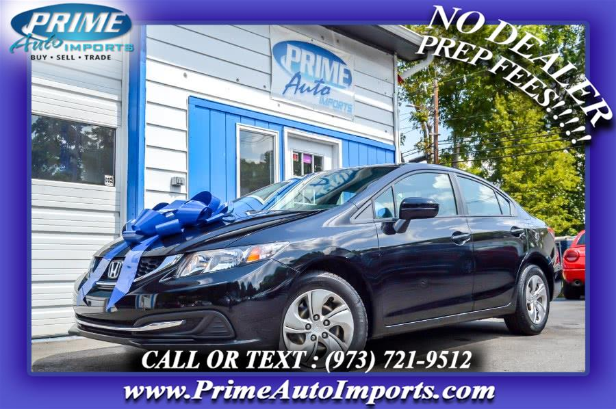 Used 2015 Honda Civic Sedan in Bloomingdale, New Jersey | Prime Auto Imports. Bloomingdale, New Jersey