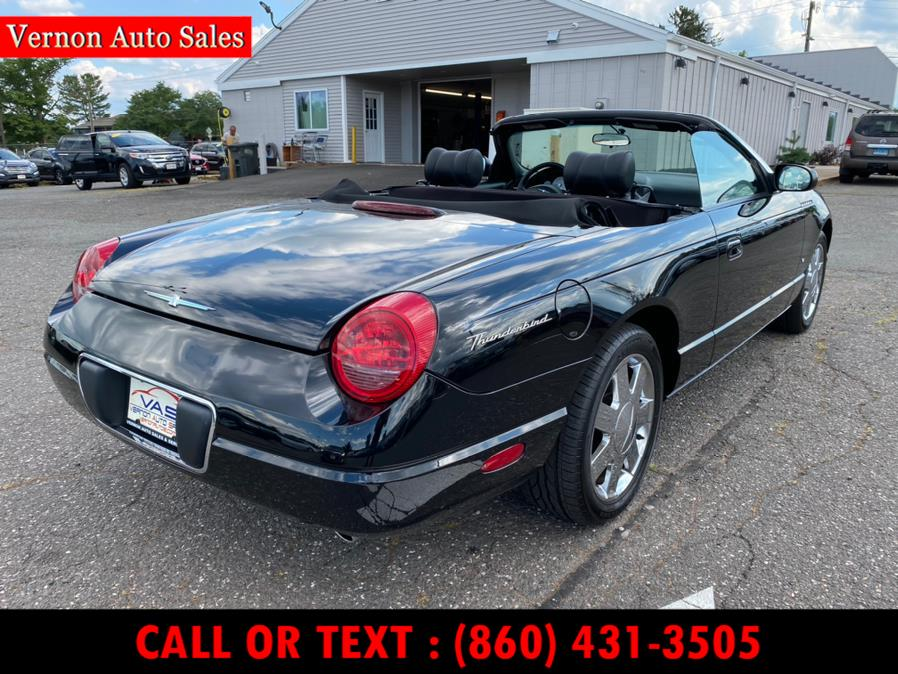 Used Ford Thunderbird 2dr Convertible Deluxe 2003 | Vernon Auto Sale & Service. Manchester, Connecticut