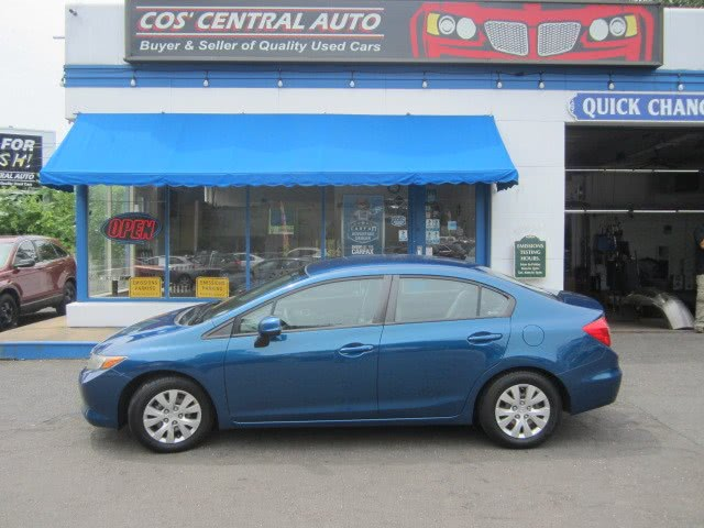 Used Honda Civic Sdn LX 2012 | Cos Central Auto. Meriden, Connecticut