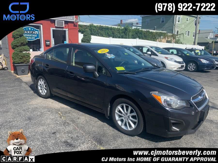 Used 2013 Subaru Impreza Sedan in Beverly, Massachusetts | CJ Motors Inc. Beverly, Massachusetts