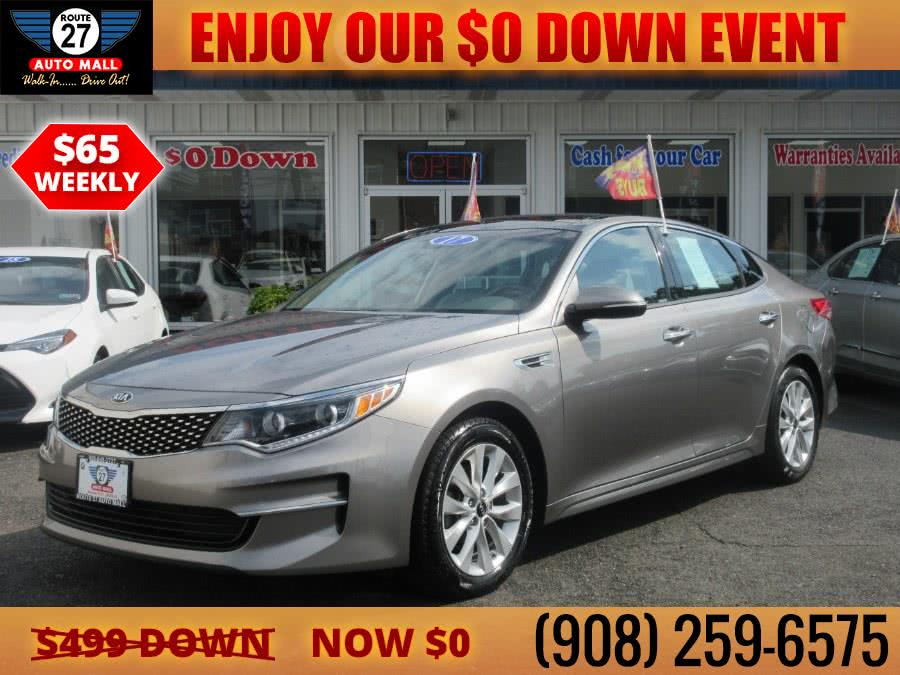Used 2017 Kia Optima in Linden, New Jersey | Route 27 Auto Mall. Linden, New Jersey
