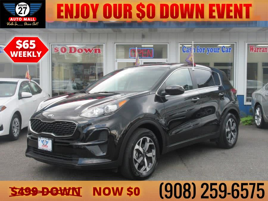 Used 2020 Kia Sportage in Linden, New Jersey | Route 27 Auto Mall. Linden, New Jersey