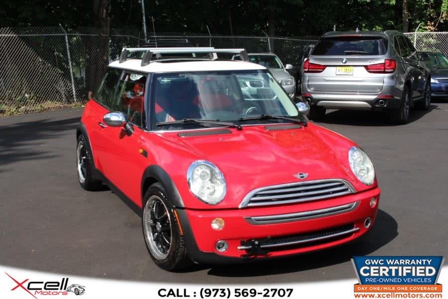 Used 2005 MINI Cooper Hardtop in Paterson, New Jersey | Xcell Motors LLC. Paterson, New Jersey