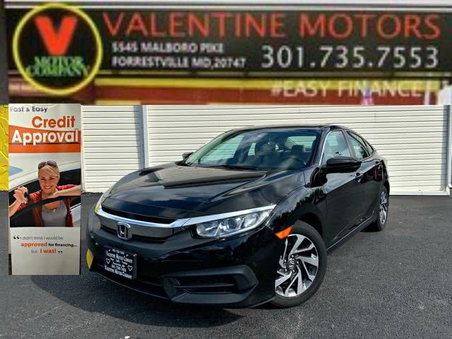 Used 2017 Honda Civic Sedan in Forestville, Maryland | Valentine Motor Company. Forestville, Maryland