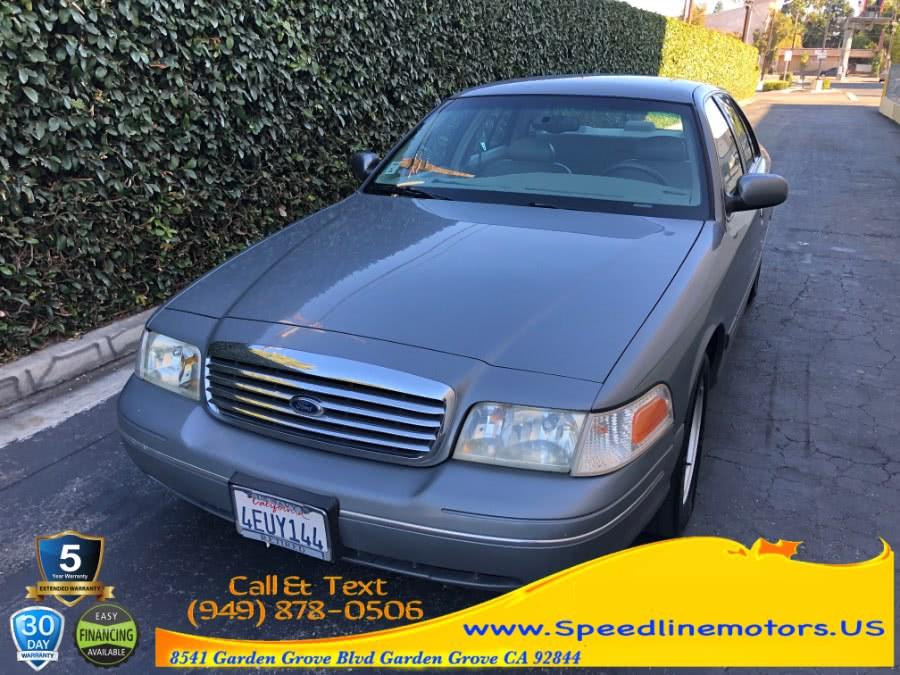 Used Ford Crown Victoria 4dr Sdn LX 1999 | Speedline Motors. Garden Grove, California