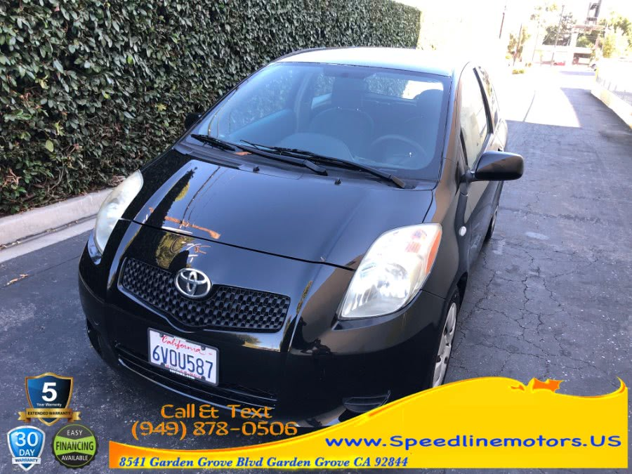 Used 2007 Toyota Yaris in Garden Grove, California | Speedline Motors. Garden Grove, California