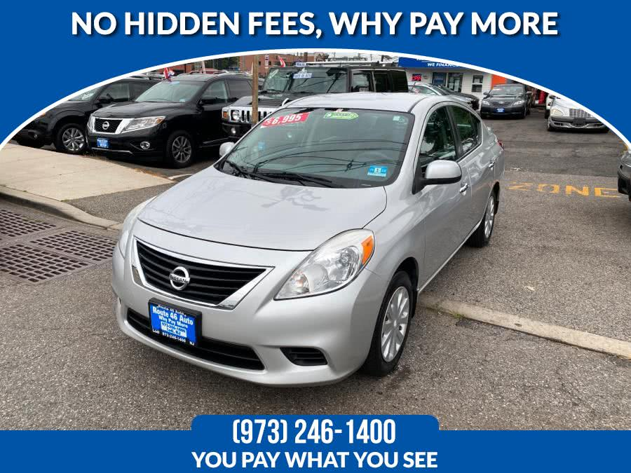 Used Nissan Versa 4dr Sdn CVT 1.6 SV 2013 | Route 46 Auto Sales Inc. Lodi, New Jersey