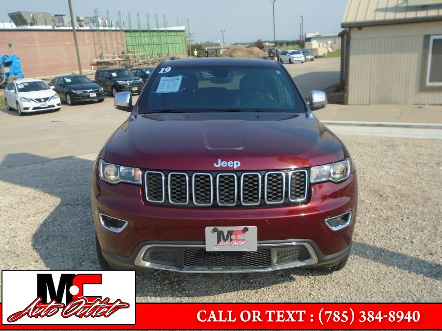 Used Jeep Grand Cherokee Limited X 4x4 2019 | M C Auto Outlet Inc. Colby, Kansas