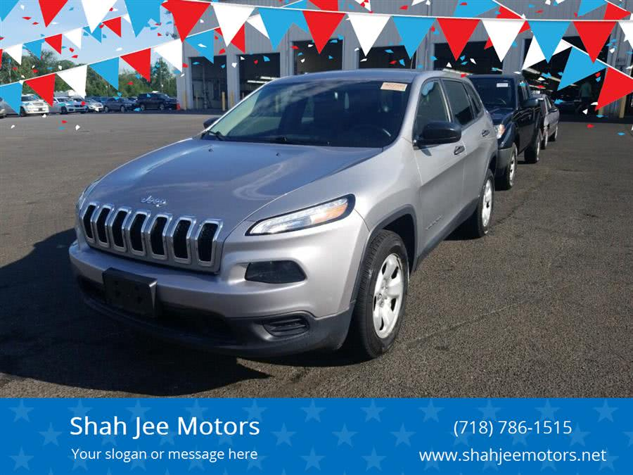 Used Jeep Cherokee Sport 4x4 4dr SUV 2016 | SJ Motors. Woodside, New York
