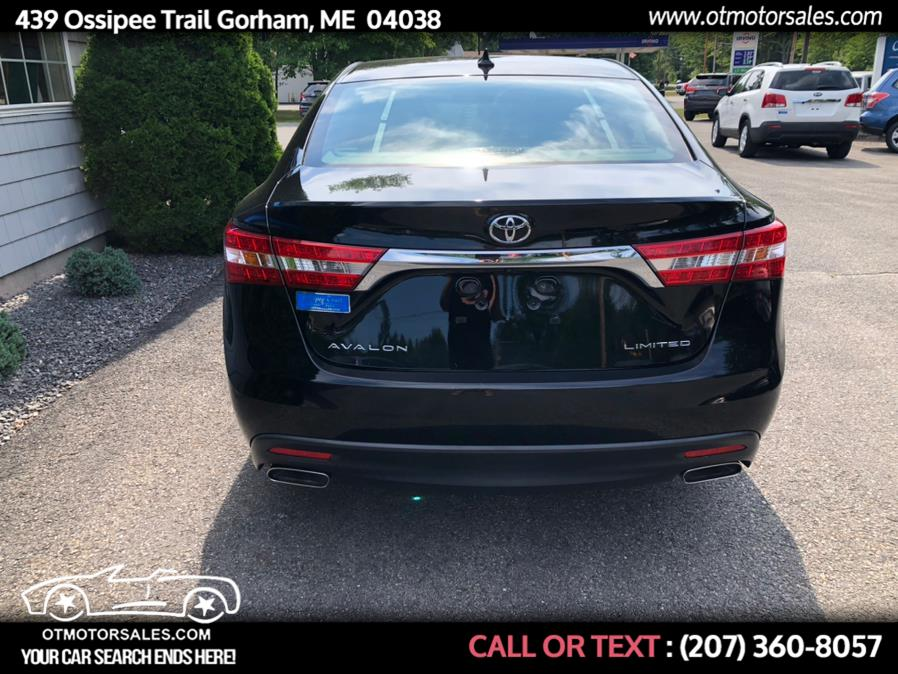 Used Toyota Avalon limited 2013 | Ossipee Trail Motor Sales. Gorham, Maine