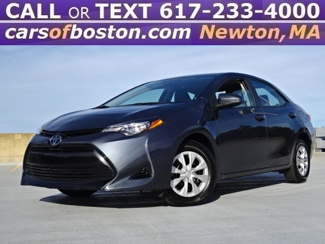 Used Toyota Corolla L CVT (Natl) 2017 | Motorcars of Boston. Newton, Massachusetts
