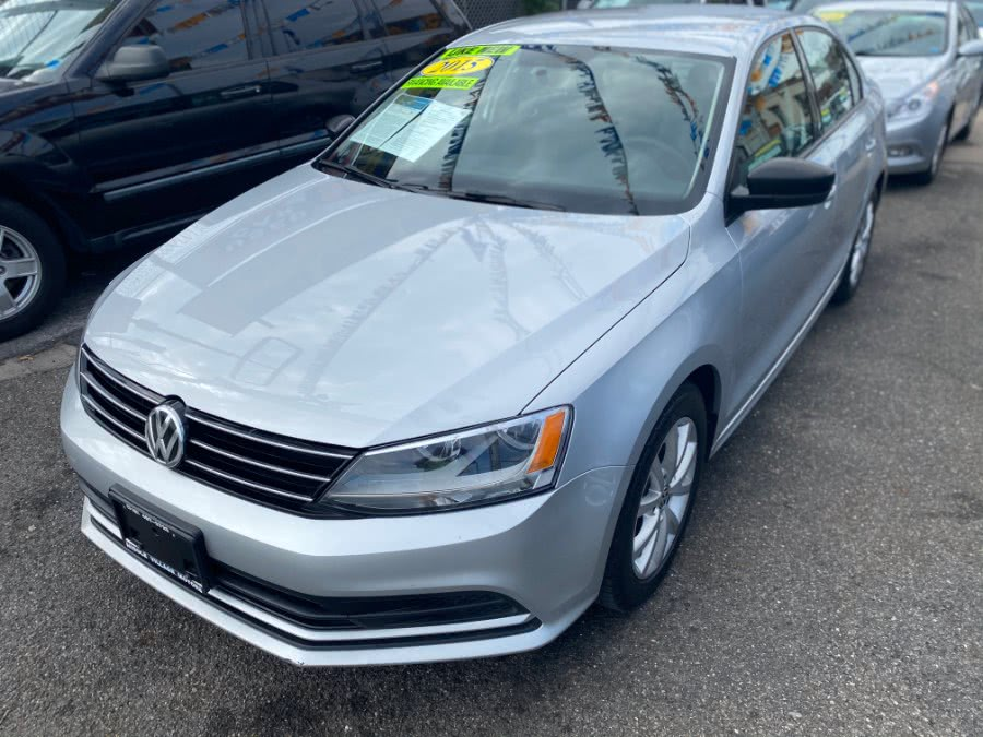 Used Volkswagen Jetta Sedan 4dr Auto 1.8T SE PZEV 2015 | Middle Village Motors . Middle Village, New York