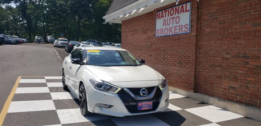 Used 2017 Nissan Maxima in Waterbury, Connecticut | National Auto Brokers, Inc.. Waterbury, Connecticut