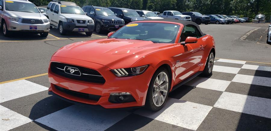 Used Ford Mustang 2dr Conv GT Premium 2015 | National Auto Brokers, Inc.. Waterbury, Connecticut
