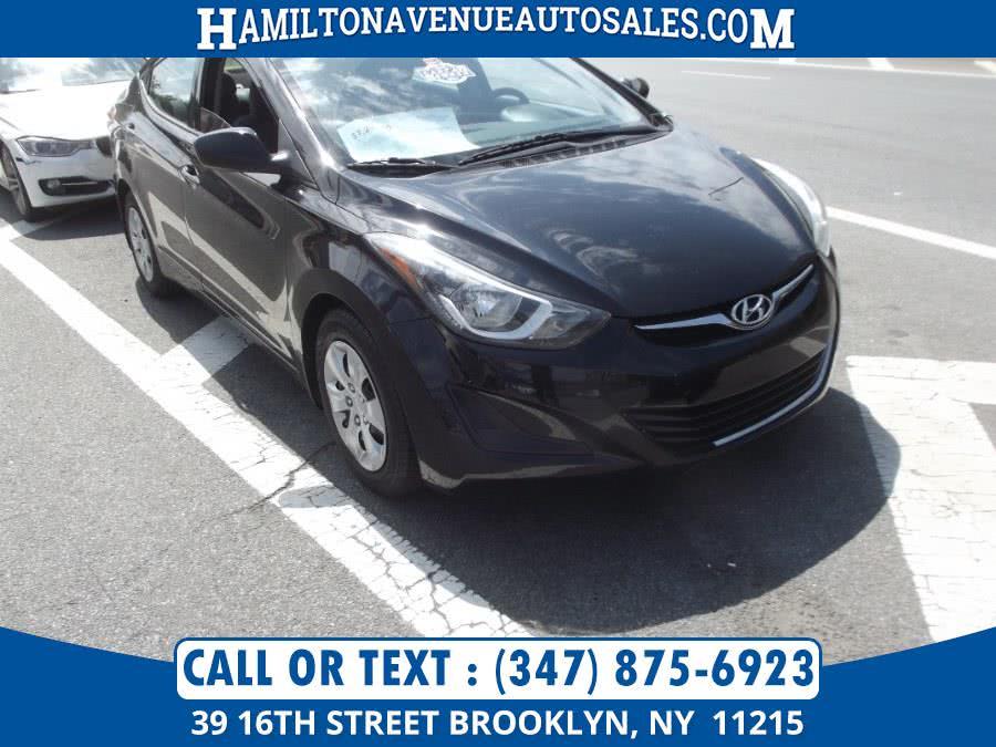 Used Hyundai Elantra SE 2016 | Hamilton Avenue Auto Sales DBA Nyautoauction.com. Brooklyn, New York