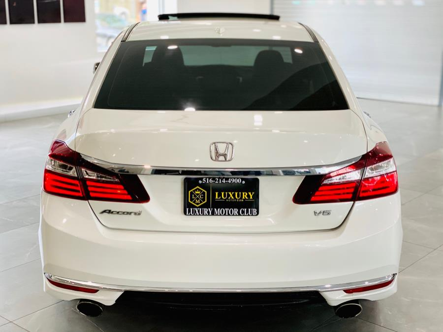 Used Honda Accord Sedan EX-L V6 Auto 2017 | Luxury Motor Club. Franklin Square, New York