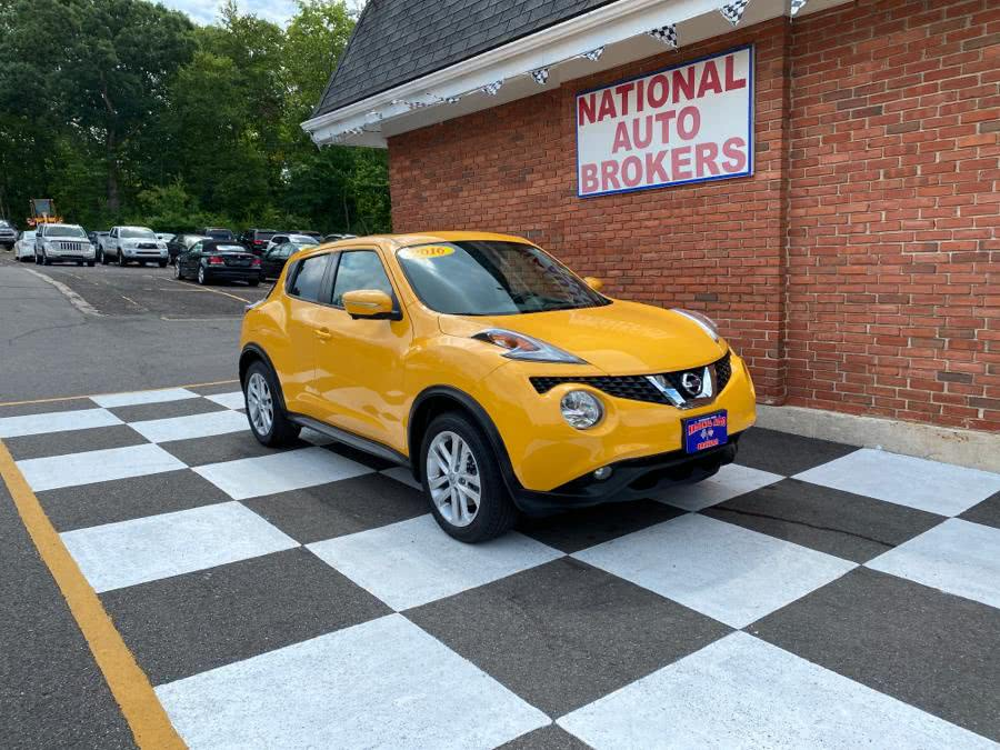 Used 2016 Nissan JUKE in Waterbury, Connecticut | National Auto Brokers, Inc.. Waterbury, Connecticut