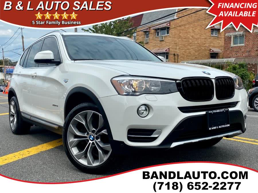 Used 2017 BMW X3 in Bronx, New York | B & L Auto Sales LLC. Bronx, New York