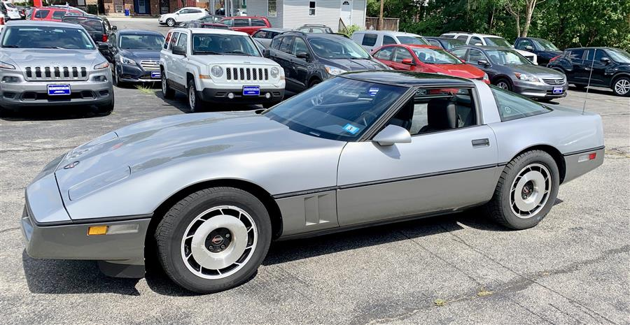 Used Chevrolet Corvette 2DR COUPE 1984 | Second Street Auto Sales Inc. Manchester, New Hampshire