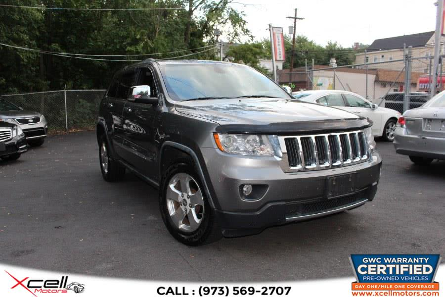 Used 2012 Jeep Grand Cherokee Limited in Paterson, New Jersey | Xcell Motors LLC. Paterson, New Jersey