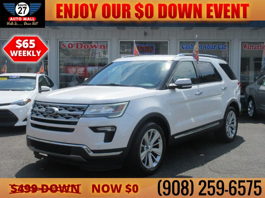 Used 2019 Ford Explorer in Linden, New Jersey | Route 27 Auto Mall. Linden, New Jersey