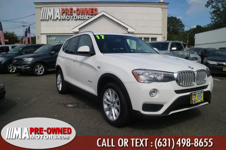Used 2017 BMW X3 in Huntington, New York | M & A Motors. Huntington, New York