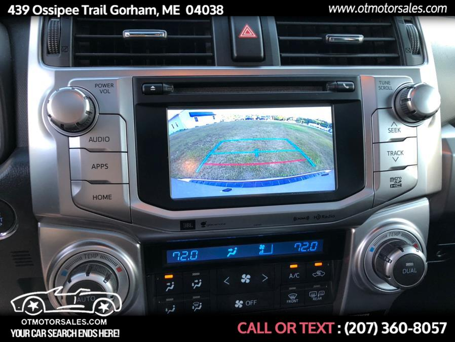 Used Toyota 4Runner limited 2018 | Ossipee Trail Motor Sales. Gorham, Maine