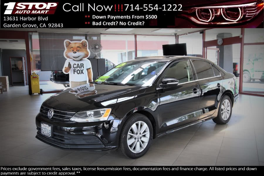 Used 2016 Volkswagen Jetta Sedan in Garden Grove, California   1 Stop Auto Mart Inc.. Garden Grove, California