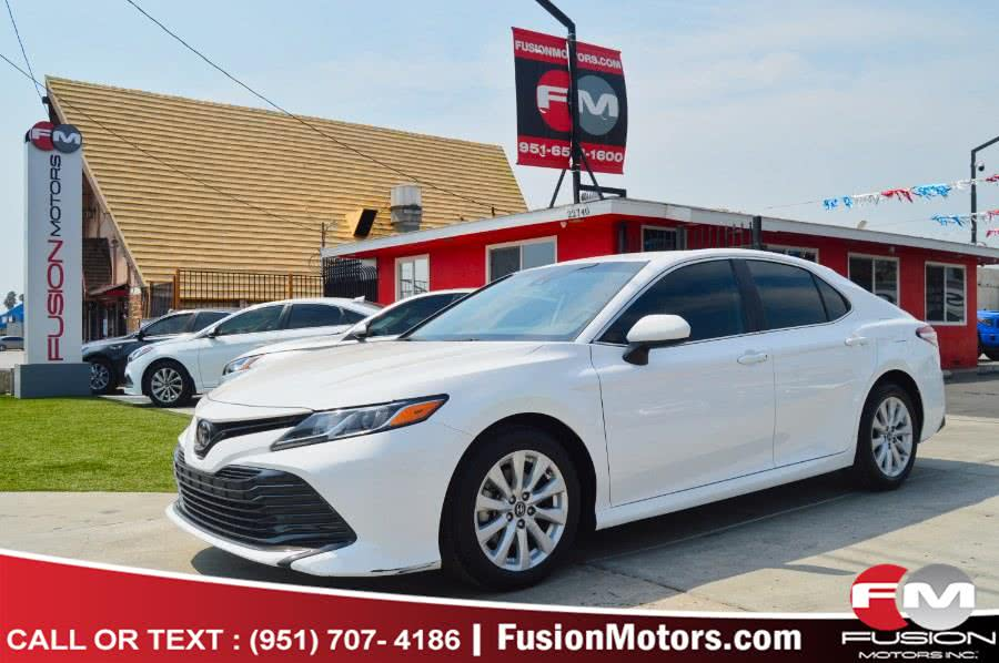 Used 2019 Toyota Camry in Moreno Valley, California | Fusion Motors Inc. Moreno Valley, California