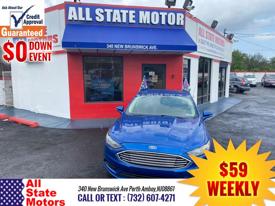 Used Ford Fusion SE FWD 2017 | All State Motor Inc. Perth Amboy, New Jersey