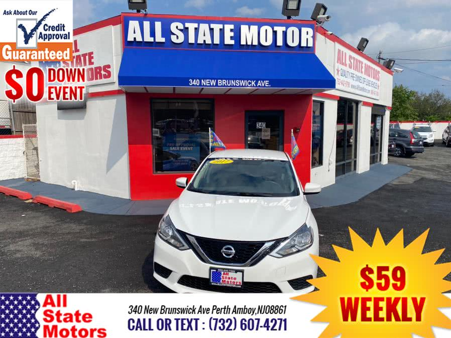 Used Nissan Sentra SV CVT 2017 | All State Motor Inc. Perth Amboy, New Jersey