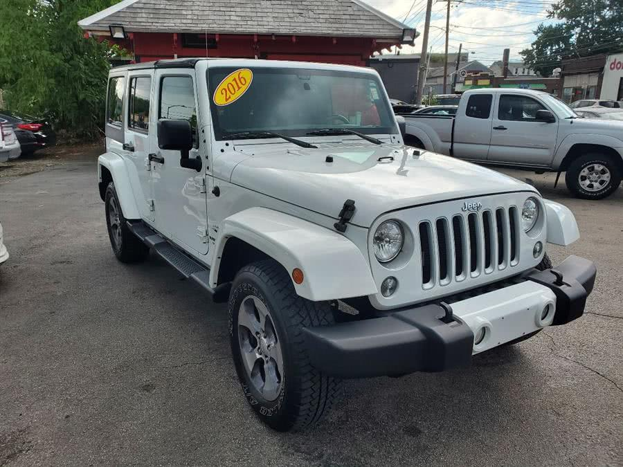 Used 2016 Jeep Wrangler Unlimited in Framingham, Massachusetts | Mass Auto Exchange. Framingham, Massachusetts