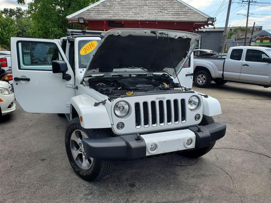 Used Jeep Wrangler Unlimited Sahara 4x4 4dr SUV 2016 | Mass Auto Exchange. Framingham, Massachusetts