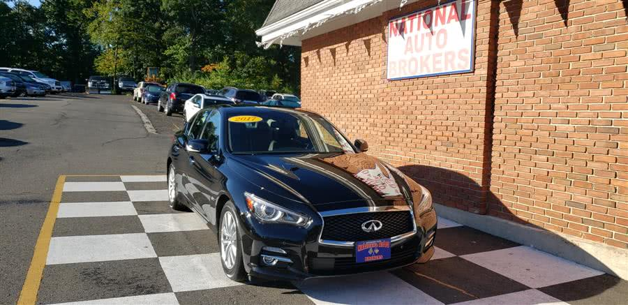 Used 2017 INFINITI Q50 in Waterbury, Connecticut | National Auto Brokers, Inc.. Waterbury, Connecticut