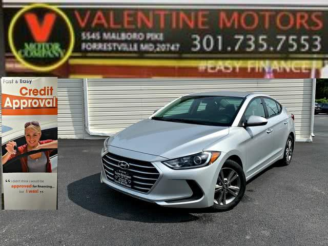 Used 2018 Hyundai Elantra in Forestville, Maryland | Valentine Motor Company. Forestville, Maryland